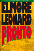 Books:Signed Editions, Elmore Leonard. SIGNED. Pronto. [New York]: Delacorte Press, [1993]. First edition, first printing. Signed by the ...