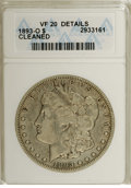 Morgan Dollars: , 1893-O $1 --Cleaned--ANACS. VF20 Details. NGC Census: (114/1472). PCGS Population (27/1846). Mintage: 300,000. Numismedia Ws...