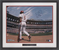 Baseball Collectibles:Photos, Albert Pujols Signed Oversized Photograph....