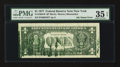 Error Notes:Ink Smears, Fr. 1909-B* $1 1977 Federal Reserve Star Note. PMG Choice Very Fine35 EPQ.. ...