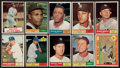 Baseball Cards:Sets, 1961 Topps Baseball Near Set (566/587). ...