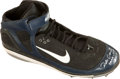 Baseball Collectibles:Others, 2006 Robinson Cano Game Worn, Signed Cleat....