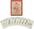 Baseball Cards:Sets, 1904-06 Fan Craze Baseball Board Game....