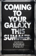"Movie Posters:Science Fiction, Star Wars (20th Century Fox, 1977). One Sheet (27"" X 41"") MylarAdvance. Science Fiction.. ..."