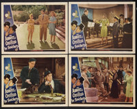 """In Society (Universal, 1944). Lobby Cards (4) (11"""" X 14""""). Comedy. ... (Total: 4 Items)"""