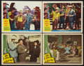 """Movie Posters:Comedy, It Ain't Hay Lot (Universal, 1943). Lobby Cards (4) (11"""" X 14""""). Comedy.. ... (Total: 4 Items)"""