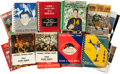 Football Collectibles:Publications, 1938-1980's Football Media and Record Guides Lot of 61....