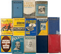 Football Collectibles:Publications, Knute Rockne and Notre Dame Vintage Hardcover Books Lot of 13....