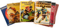 Football Collectibles:Publications, Vintage Football Hardcover Books Lot of 10....