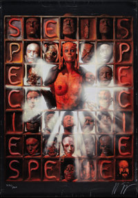 """Species (MGM, 1995). Numbered and Signed H. R. Giger Lithograph (27.5"""" X 39.25""""). Science Fiction"""