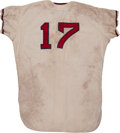 Baseball Collectibles:Uniforms, 1966 Fred Newman Game Worn Jersey....