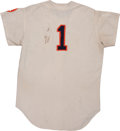 "Baseball Collectibles:Uniforms, 1966 Houston Astros ""No. 1"" Game Worn Jersey...."