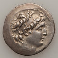 Ancients:Greek, Ancients: SELEUKID KINGDOM. Antiochos VII Euergetes (138-129 BC).AR tetradrachm (16.31 gm). ...