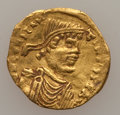 Ancients:Byzantine, Ancients: Constans II (AD 641-668). AV tremissis (1.40 gm). ...
