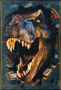 "Movie Posters:Horror, Jurassic Park II: The Lost World (Universal, 1997). Lenticular 3-DOne Sheet (27"" X 40"") Advance. Horror.. ..."