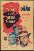 """Movie Posters:Drama, The Treasure of the Sierra Madre (Warner Brothers, 1948).Argentinean Poster (29"""" X 43.5""""). Drama.. ..."""