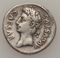 Ancients:Roman Imperial, Ancients: Augustus (27 BC-AD 14). AR denarius (3.65 gm). ...