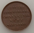 Australia: , Australia: Murray & Christie copper Penny Token 1862, ...