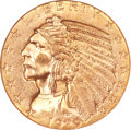 Indian Half Eagles, 1929 $5 MS64 NGC....