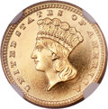 Proof Gold Dollars, 1885 G$1 PR68 Ultra Cameo NGC....