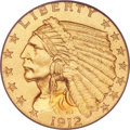 Proof Indian Quarter Eagles, 1912 $2 1/2 PR67 PCGS....
