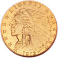 Proof Indian Quarter Eagles, 1912 $2 1/2 PR65 NGC....