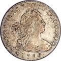 Early Half Dimes, 1796 H10C LIKERTY XF45 PCGS. CAC. V-1, LM-1, R.3....