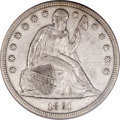 Seated Dollars, 1861 $1 XF40 PCGS....