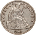 Seated Dollars, 1862 $1 XF40 PCGS....