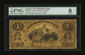 Canadian Currency: , Toronto, ON- The Dominion Bank $4 Jan. 1, 1876 Ch. # 220-12-02. ...