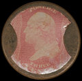 Encased Postage: , HB-32 EP-34b 3¢ Ayer's Sarsaparilla Choice Very Fine. . ...