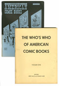 Magazines:Fanzine, The Who's Who of American Comic Books Group (Jerry Bails, 1973-76) Condition: Average VF.... (Total: 4 Items)