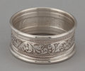 Silver Holloware, American:Napkin Rings, A SET OF FOUR AMERICAN SILVER NAPKIN RINGS . Alvin Corporation,Providence, Rhode Island, circa 1920. Marks: ALVIN STERLIN...(Total: 4 Items)