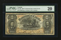 Canadian Currency: , DC-13b $1 1898. ...