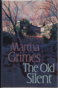 Books:Signed Editions, Martha Grimes. SIGNED. The Old Silent. Boston Toronto London: Little, Brown and Company, [1989]. First edition, firs...