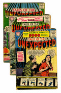 Silver Age (1956-1969):Horror, Tales of the Unexpected Group (DC, 1956-58) Condition: AverageGD.... (Total: 15 Comic Books)