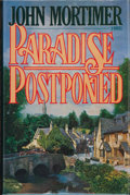 Books:Signed Editions, John Mortimer. SIGNED. Paradise Postponed. [Middlesex New York et al.]: Viking, [1985]. First edition. Signed and ...