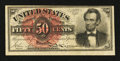 Fractional Currency:Fourth Issue, Fr. 1374 50¢ Fourth Issue Lincoln Fine-Very Fine.. ...