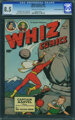 Whiz Comics #99 - Crowley Pedigree Copy (Fawcett Publications, 1948) CGC VF+ 8.5 Cream to off-white pages
