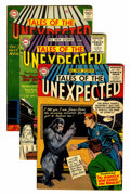 Silver Age (1956-1969):Horror, Tales of the Unexpected Group (DC, 1956-60) Condition: AverageVG+.... (Total: 9 Comic Books)