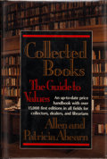 Books:Signed Editions, Allen and Patricia Ahearn. INSCRIBED. Collected Books. The Guide to Values. New York: G. P. Putnam's Sons, [1991...