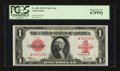 Large Size:Legal Tender Notes, Fr. 40 $1 1923 Legal Tender Star Note PCGS Superb Gem New 67PPQ.....