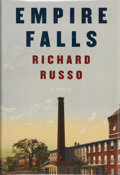 Books:Signed Editions, Richard Russo. SIGNED. Empire Falls. New York: Alfred A. Knopf, 2001. First edition. Signed by the author on the...