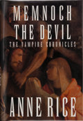 Books:Signed Editions, Anne Rice. SIGNED. Memnoch the Devil. The Vampire Chronicles. New York: Alfred A. Knopf, 1995. First edition. ...