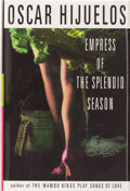 Books:Signed Editions, Oscar Hijuelos. INSCRIBED. Empress of the Splendid Season. [New York]: HarperFlamingo, [1999]. First edition, first ...