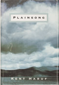 Books:Signed Editions, Kent Haruf. SIGNED. Plainsong. New York: Alfred A. Knopf, 1999. First edition. Signed by the author on the title...