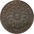 Colonials, 1785 COPPER Nova Constellatio Copper, Pointed Rays, Large Date MS61Brown NGC. Crosby 3-B, W-1895, R.2....