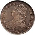 Bust Half Dollars, 1828 50C Curl Base 2, No Knob MS65 ★ NGC. O-102, R.2....