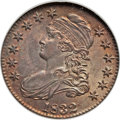 Bust Half Dollars, 1832 50C Small Letters MS65 NGC. O-103, R.1....