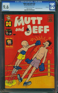 Mutt and Jeff #125 - File Copy (Harvey, 1961) CGC NM+ 9.6 Off-white to white pages